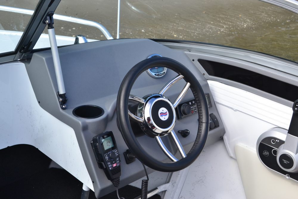 New dashboards across the Quintrex range allow for larger electronic componentry.