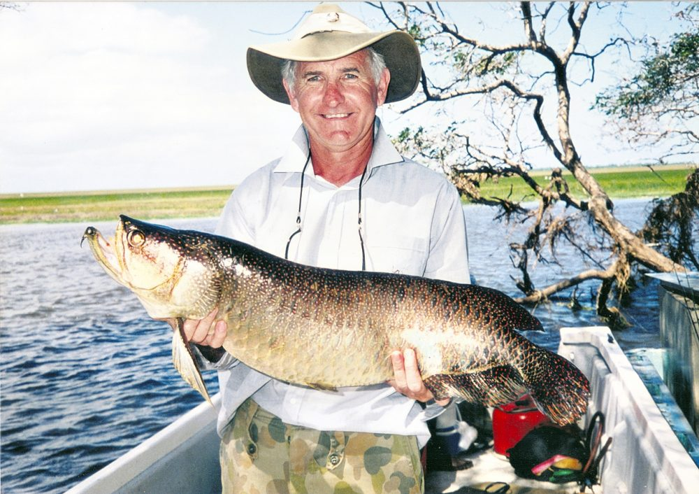 Late legendary Don McPherson with a Bensbach Saratoga