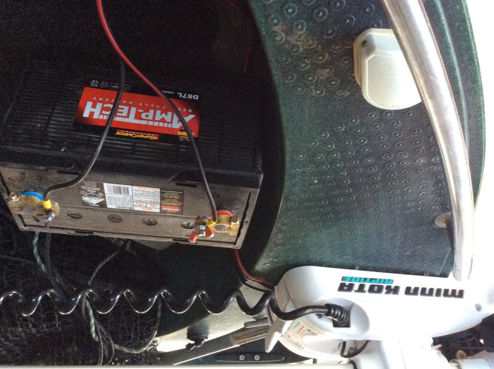 For serious anglers who need to hold in a location or methodically work a pice of water, a quality electric motor is a necessity